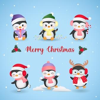 Weihnachtspinguin 01