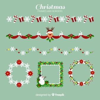 Weihnachtsrahmen & grenzen