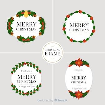 Weihnachtsrahmen-sammlung