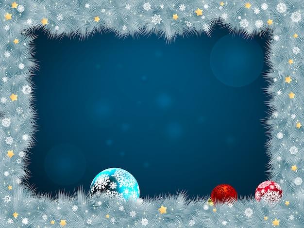 Weihnachtsrahmen.
