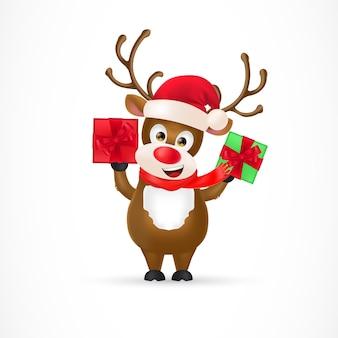 Weihnachtsren-zeichentrickfilm-figur