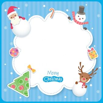Weihnachtsschmuck-blau
