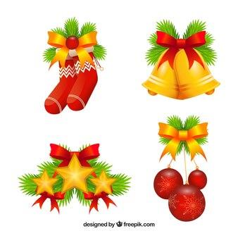 Weihnachtsschmuck set