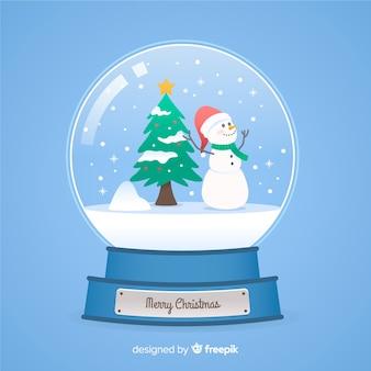 Weihnachtsschneeballkugel