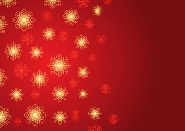 Weihnachtsschneeflockehintergrund