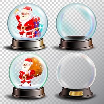 Weihnachtsschneekugel