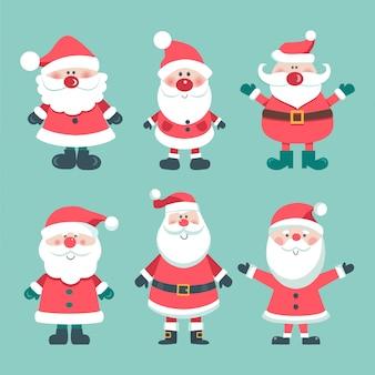 Weihnachtsset von santas.
