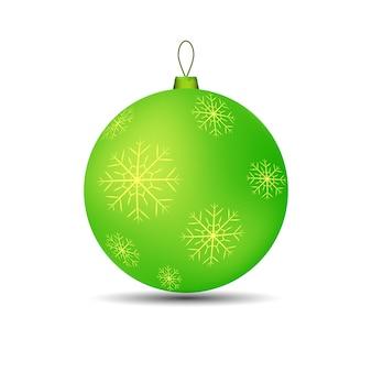 Weihnachtsspielzeugball für baum hell