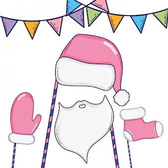 Weihnachtsstand props cartoons