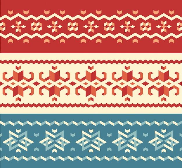 Weihnachtsstrickjacke-muster sey
