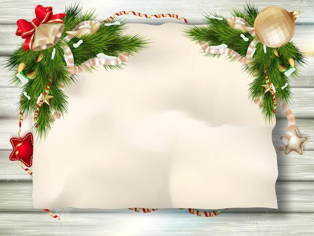 Weihnachtstannenbaum.