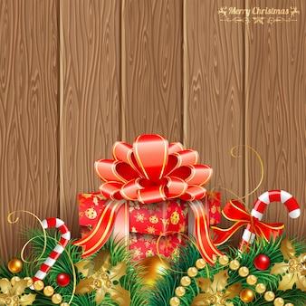 Weihnachtsthema hintergrund