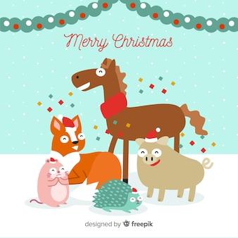 Weihnachtstiere