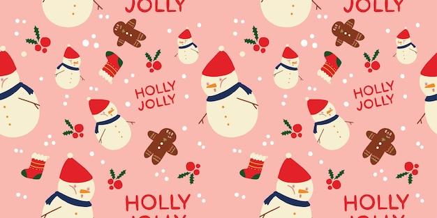 Weihnachtsvektormuster