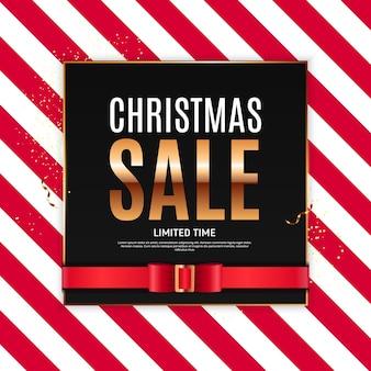 Weihnachtsverkauf hintergrundvorlage.