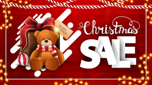Weihnachtsverkauf illustration