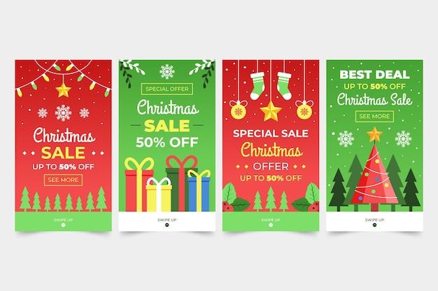 Weihnachtsverkauf instagram geschichten