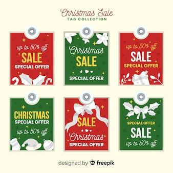 Weihnachtsverkauf label pack
