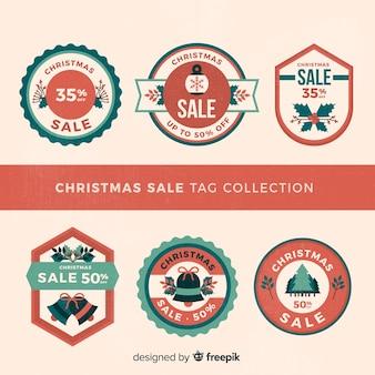 Weihnachtsverkauf tags pack