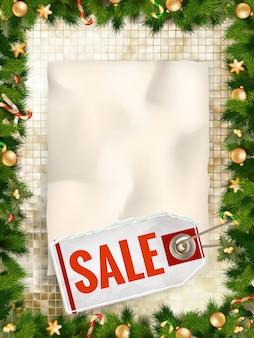Weihnachtsverkauf.