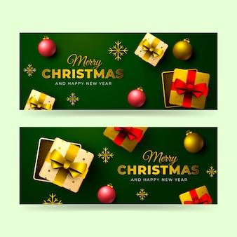 Weihnachtsverkaufs-design-banner