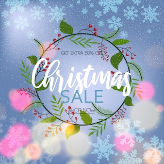 Weihnachtsverkaufs-rabatt