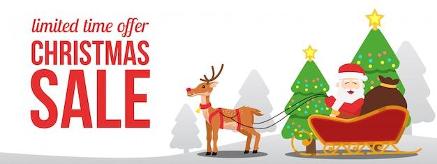 Weihnachtsverkaufsangebot