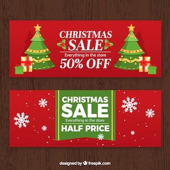 Weihnachtsverkaufsbanner
