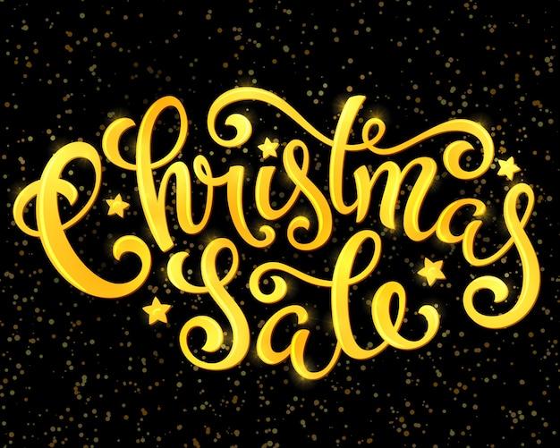Weihnachtsverkaufsplakat