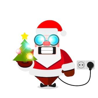 Weihnachtsweihnachtsmann elektrisch