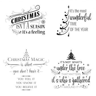 Weihnachtswünsche sammelpackung