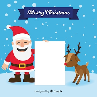 Weihnachtszeichen, die unbelegtes zeichen anhalten