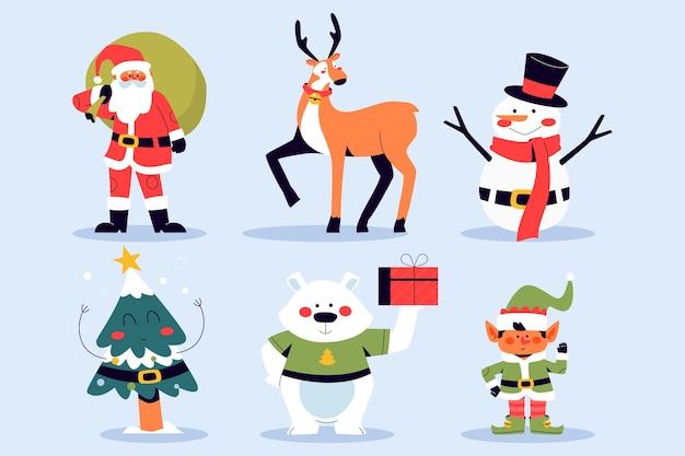 Weihnachtszeichensatz