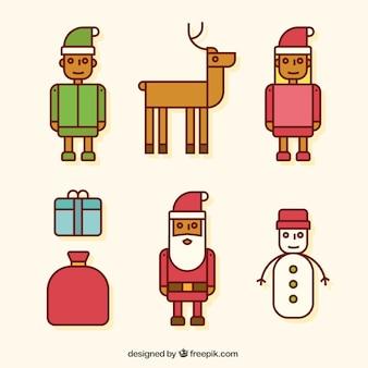 Weihnachtszeichensymbole