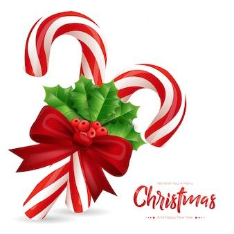 Weihnachtszuckerstangen