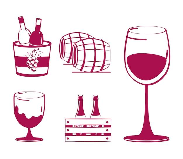 Wein trinken getränk