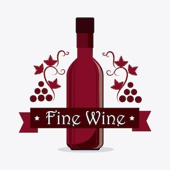 Weinhandlung design.