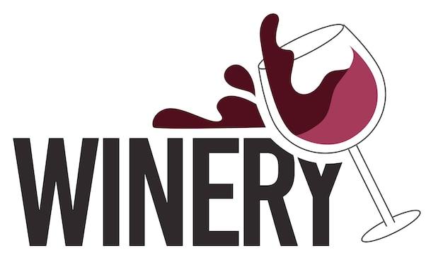 Weinkellerei-alkoholbar oder alkoholisches getränk testen