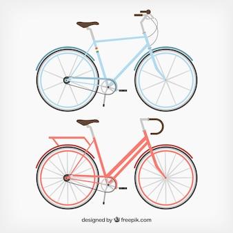 Weinlese-fahrräder