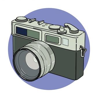 Weinlese-kamera-clipart