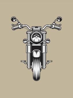 Weinlese-motorrad