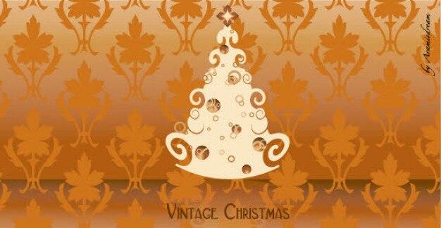 Weinlese-weihnachtsbaum