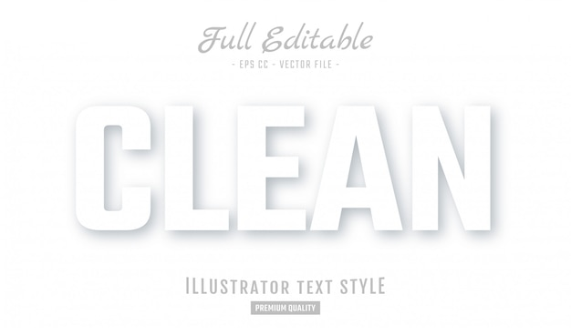 Weiß clean neuphorism text style effekt premium