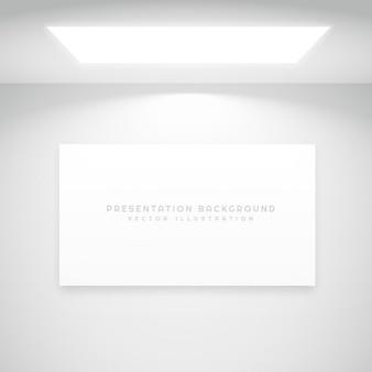 Weiß präsentation hintergrund