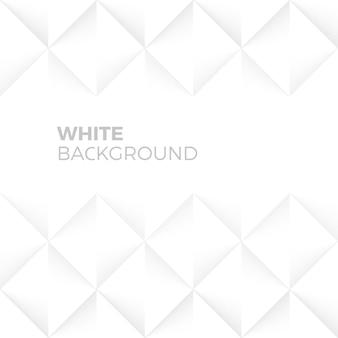 Weiße abstrakte form und strukturierter hintergrund