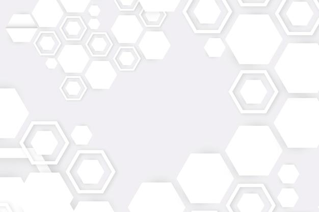 Weiße abstrakte papierart des hintergrundes 3d