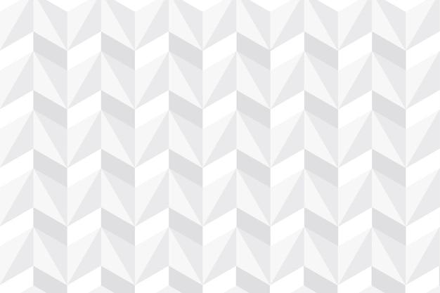 Weiße abstrakte tapete im design des papiers 3d