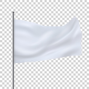 Weiße flagge vorlage
