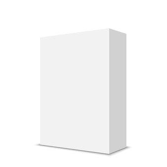 Weiße kiste. .