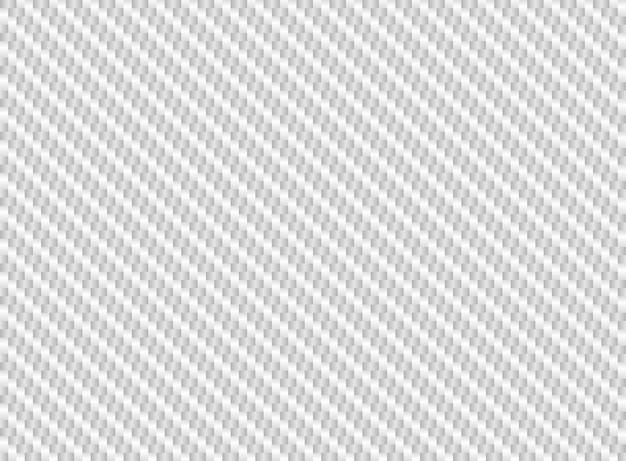 Weiße kohlefaser nahtlos